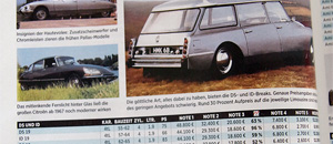 Classic Data Preise April 2019 -  Citroën DS/ID - OM Sonderheft 63/2019